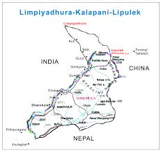 Nepal India Map by India China Border Nepal Buddhi