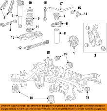 chevrolet gm oem 16 17 camaro rear upper control arm 22974128 ebay