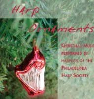 harp ornaments cd phillyharp