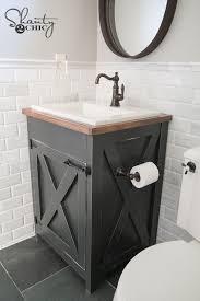 Custom Built Bathroom Vanities Best 25 Diy Bathroom Vanity Ideas On Pinterest Bathroom