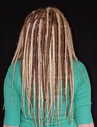 How To Dread Hair Extensions how to install synthetic double ended dreads 4 steps