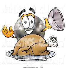 bowling turkey clipart 10