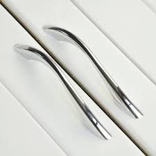 kitchen cabinet door handles and pulls modern bathroom kitchen drawer pull handles silver chrome dresser pulls cabinet handles pulls knobs door knob 128 mm