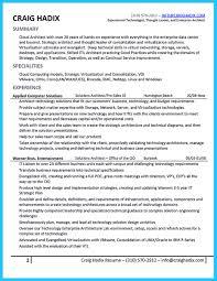architect resume cloud architect resume resume for study