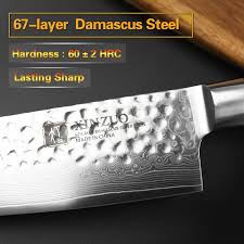 damascus steel kitchen knives 2017 xinzuo 8 inch chef knives japanese 67 layers damascus