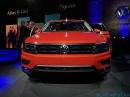 volkswagen atlas r line interior 2018 volkswagen tiguan long wheelbase compact adds much needed