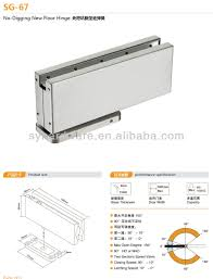 patch fitting glass door new design floor spring hydraulic patch fitting for framless glass
