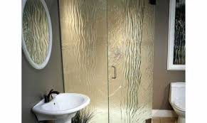 Narrow Shower Doors by Shower Etched Glass Shower Doors Gripping Etched Shower Glass