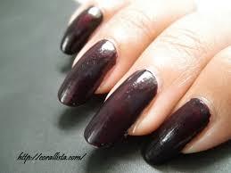 whats on your nails avon nailwear pro nail enamel midnight plum