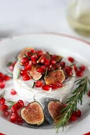 oven baked brie with fig pomegranate the home cook s kitchen