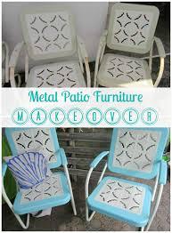 metal patio furniture makeover a restoration hardware rescue a