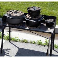 dutch oven cooking table c chef cing dutch oven stove cooking table 32 ct32lw ebay