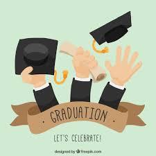 graduation diploma graduation background of with diploma and graduation caps