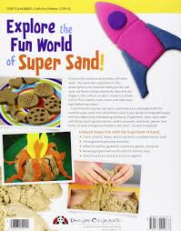 krazy kool kinetic sand play build stamp and sculpt with the