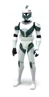 clone trooper wall display armor clone trooper draa star wars the clone wars action figure review