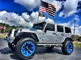 jeep hardtop 2016 2017 jeep wrangler unlimited custom lifted leather hardtop florida