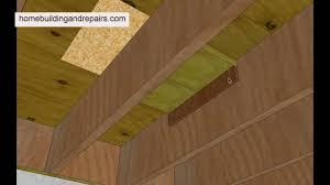 how to repair bathtub subfloor damage underneath in basement and