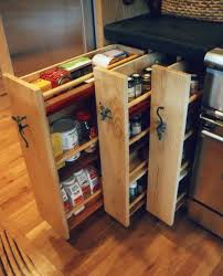 Kitchen Cabinet Spice Rack Organizer Ikea Pull Out Pantry Tall Kitchen Cabinets With Pull Out Shelves