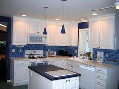 blue kitchen backsplash kitchens 2010 counters floors tile and other features