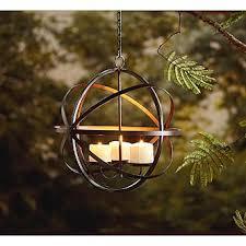 Garden Candle Chandelier Garden Oasis Candle Sphere Chandelier Outdoor Living Outdoor
