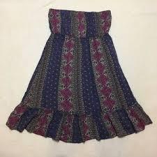 blue rue 21 floral dress on poshmark