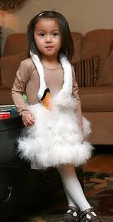 White Swan Halloween Costume Baby Bjork Swan Dress Costume Halloween Costume Contest Costume