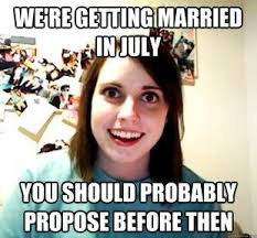 Overly Attached Girlfriend Meme - 144 best overly attached girlfriend memes images on pinterest