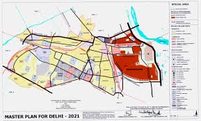 The Golden Girls Floor Plan by Delhi Development Authority