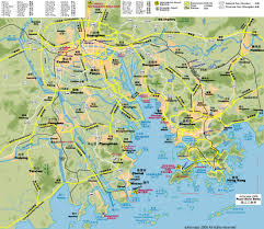 Map Of Rivers Map Of The Pearl River Delta