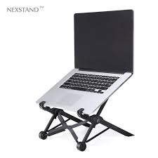 Stands For Laptops On Desk Nexstand K2 Laptop Stand Folding Portable Adjustable Laptop