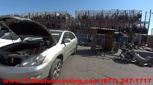 used parts for lexus rx330 parting out 2004 lexus rx 330 stock 6315br tls auto recycling