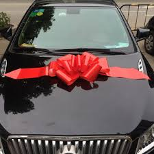 car bow ribbon 23 inch plain butterfly car pull bow ribbon buy car bow 23