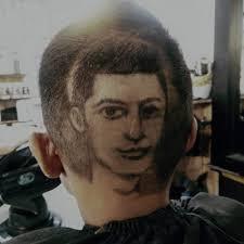 hair tattoo portrait cr7 realbarber
