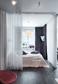 Ceiling Track Curtains 45 Best Ceiling Mounted Curtain Tracks Images On Pinterest