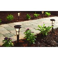 Hampton Bay Outdoor Solar Lights by 8 Best Front Yard Lighting Images On Pinterest Front Yards Path
