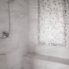 White Carrera Marble Bathroom - carrera marble design ideas