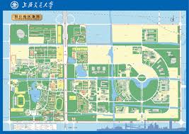 Shanghai China Map by East China Normal University In Shanghai China Map Minhang China