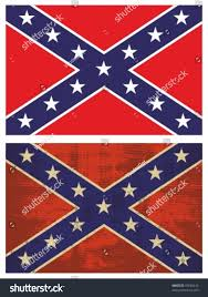Rebel Flag Image Confederate Flag Grunge Rebel Flag Stock Vector 97820243