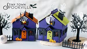 papertrey ink new tiny town spookville die collection wishlist