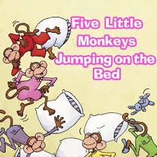 No More Monkeys Jumping On The Bed Song Five Little Monkeys Jumping On The Bed Chant A Song By Kim