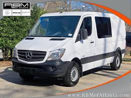 new 2016 mercedes benz sprinter crew vans full size cargo van in