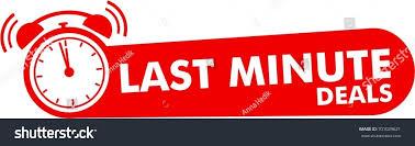last minute deals button flat label stock vector 701029621
