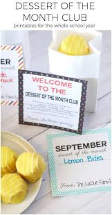 Gift Of The Month Ideas Dessert Of The Month Club