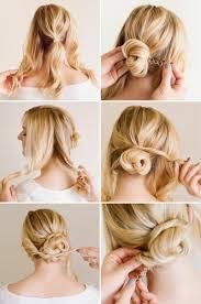 Hochsteckfrisurenen Lange Haare Seitlich by Einfache Hochsteckfrisuren Die Sie Nur In 5 Minuten Kriegen