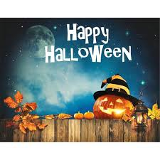 halloween party banner 2017 happy halloween backdrop night party banner dark blue sky