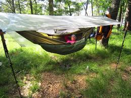 a guide for transitioning from a tent to a hammock