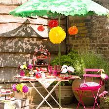 Summer Garden Party Ideas - summer garden party table decorating ideas in exotic colors
