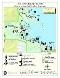 lake pleasant map lake pleasant regional park maplets