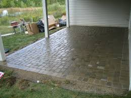 Paver Stones For Patios Square Paver Patio Home Design Ideas And Pictures