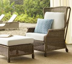 furniture wicker storage ottoman coffee table wicker ottoman